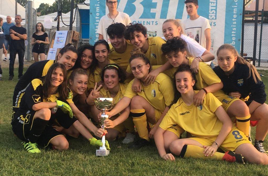 Giovanissime Femminile: Vittoria nell'ultimo impegno stagionale!!